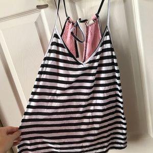 Roxy Tops - Striped Roxy Tank Top